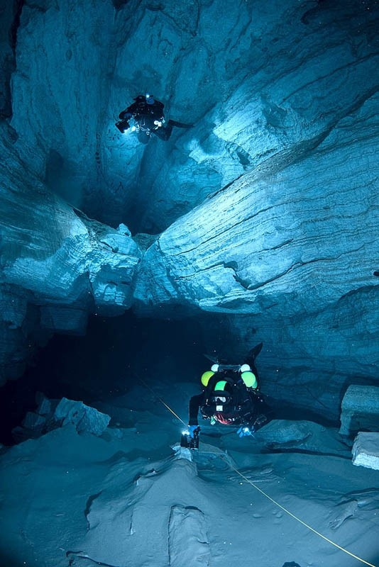 Cave Diving....Amazing!