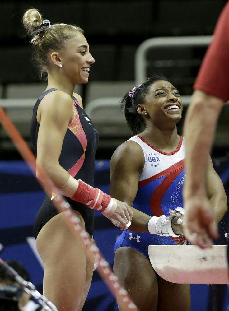 Simone Biles & Ashton Locklear