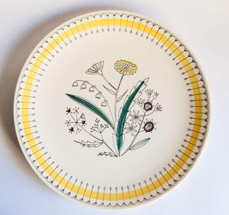 Stavangerflint Norway, Vintage Scandinavian - Tiril Plates - Anne Lofthus