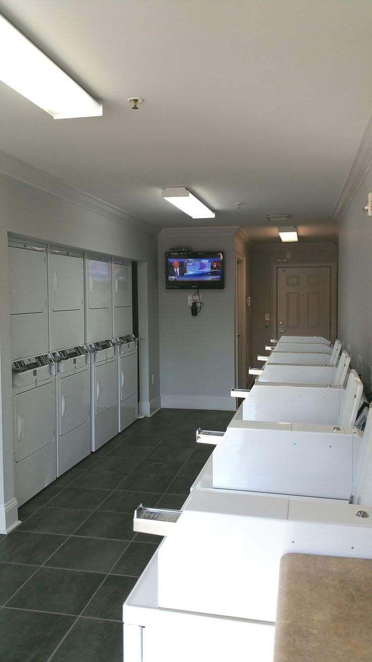 Coin Operated Laundry Room  Terraces at Suwanee Gateway Apartment Homes