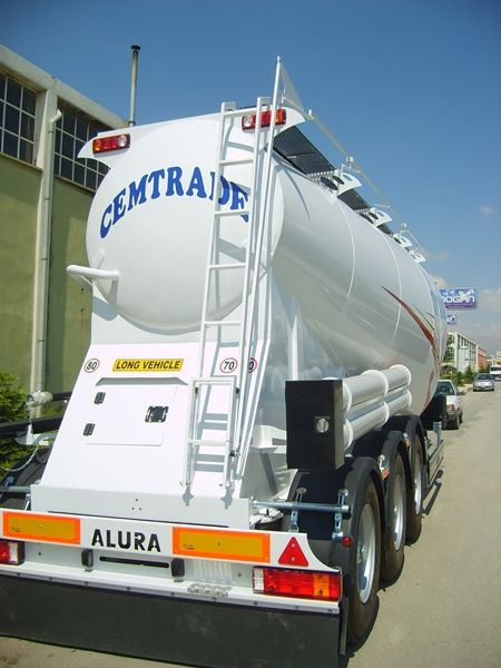 bulk cement trailers for more information please contact with our sales team : sales@aluratrading.com