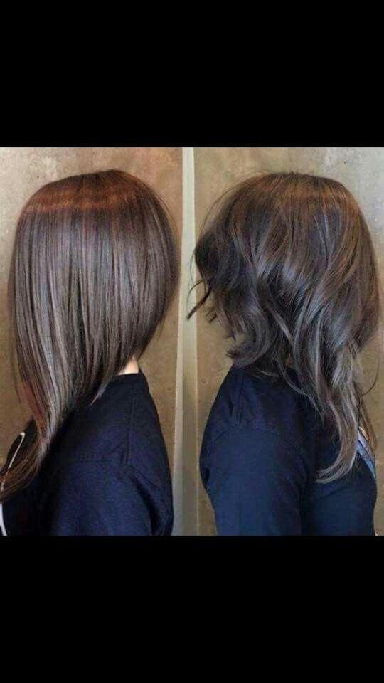 Image result for long angled haircut