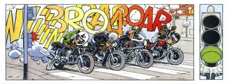 motorcycle panel by the Joe Bar Team