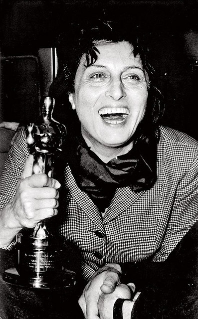 Anna Magnani won the Academy Award for The Rose Tattoo in 1955.--------Best Actress