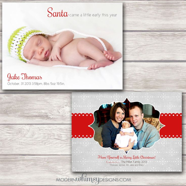 7 best birth announcement images on Pinterest Christmas birth