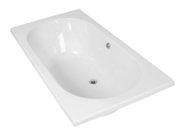 White Iqwa Bath - 1800mm | CTM