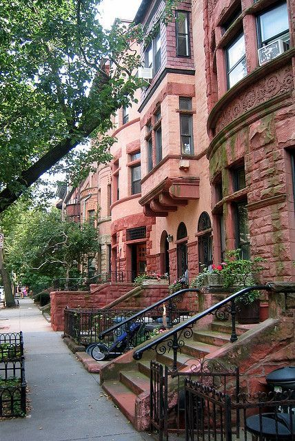 New York City brownstones at their finest.