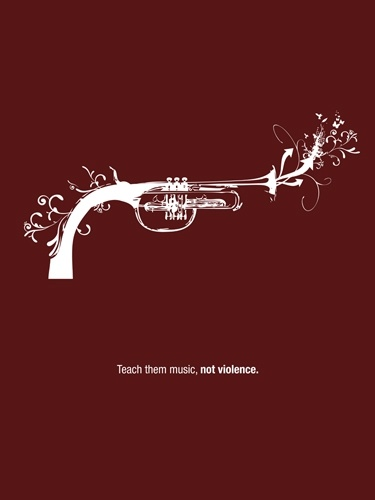 Music not violence