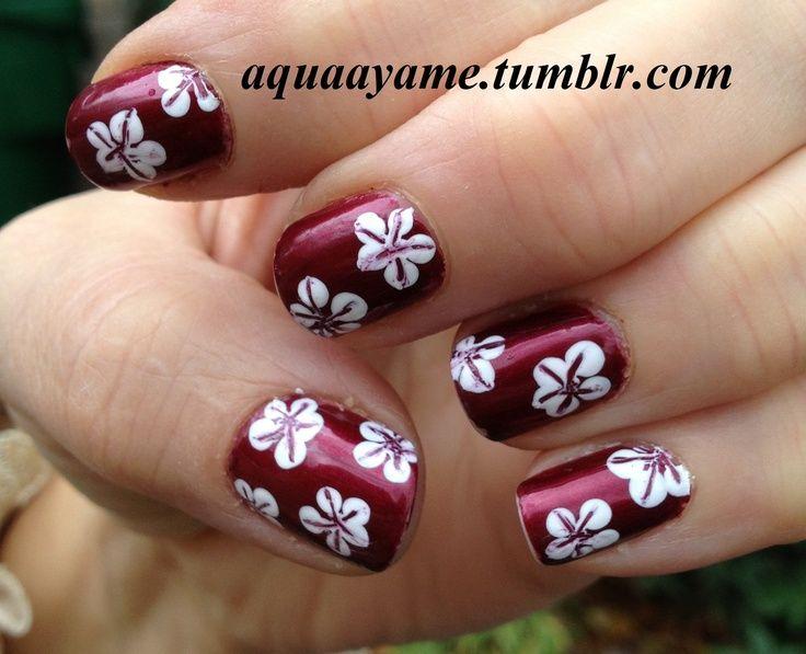 25 beautiful hawaiian nail art ideas on pinterest hawaiian cute nails for the summertime hawaiian nail art prinsesfo Image collections