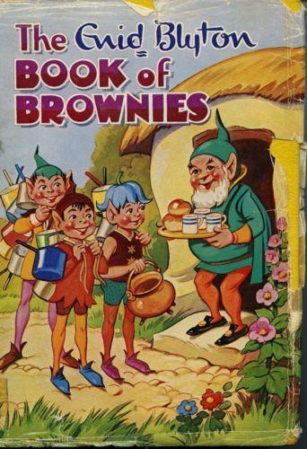 The-Enid-Blyton-Book-of-Brownies-FREE-AU-POST-Used-Vintage-Illustrated-Hardback  www.sleepybearbooks.com