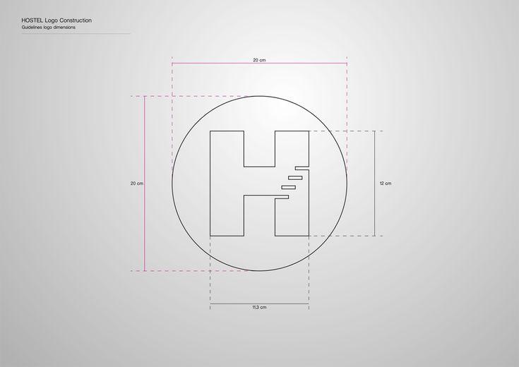 Corporate Identity Hostel_Upstairs_Late Bar_Logo dimensions_Yianart