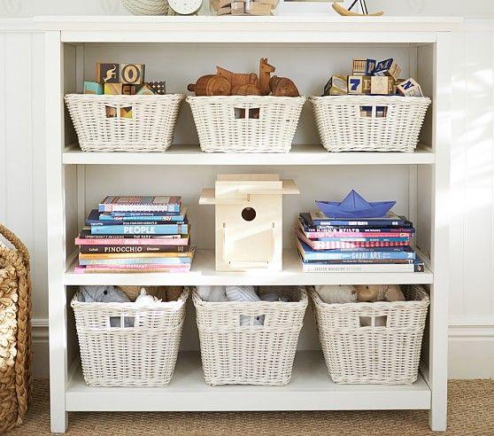 deals and section shop foldable fabric shelf s bookcases alert on bookcase basket amazing with capri baskets storage organization n black walnut