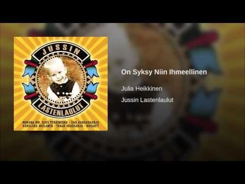 On Syksy Niin Ihmeellinen - YouTube