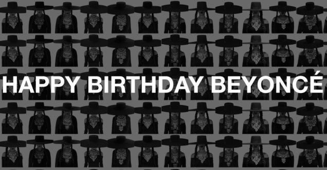 Michelle Obama, Serena Williams, and Other Celebrities Wish Beyoncé Happy Birthday in 'Formation' Tribute