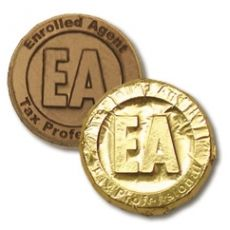 Enrolled Agent Chocolate Coin