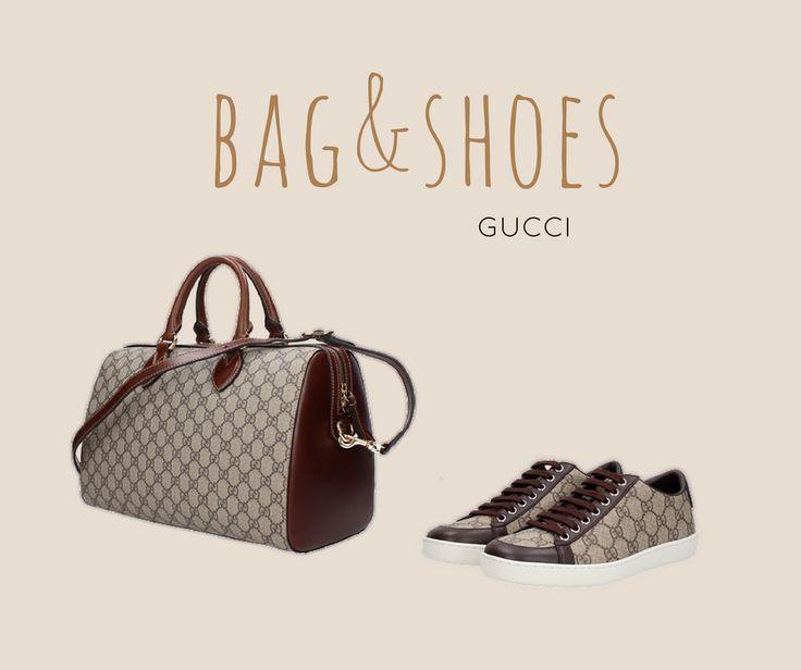I must have irrinunciabili di Gucci: borsa e sneakers pendant logate GG.