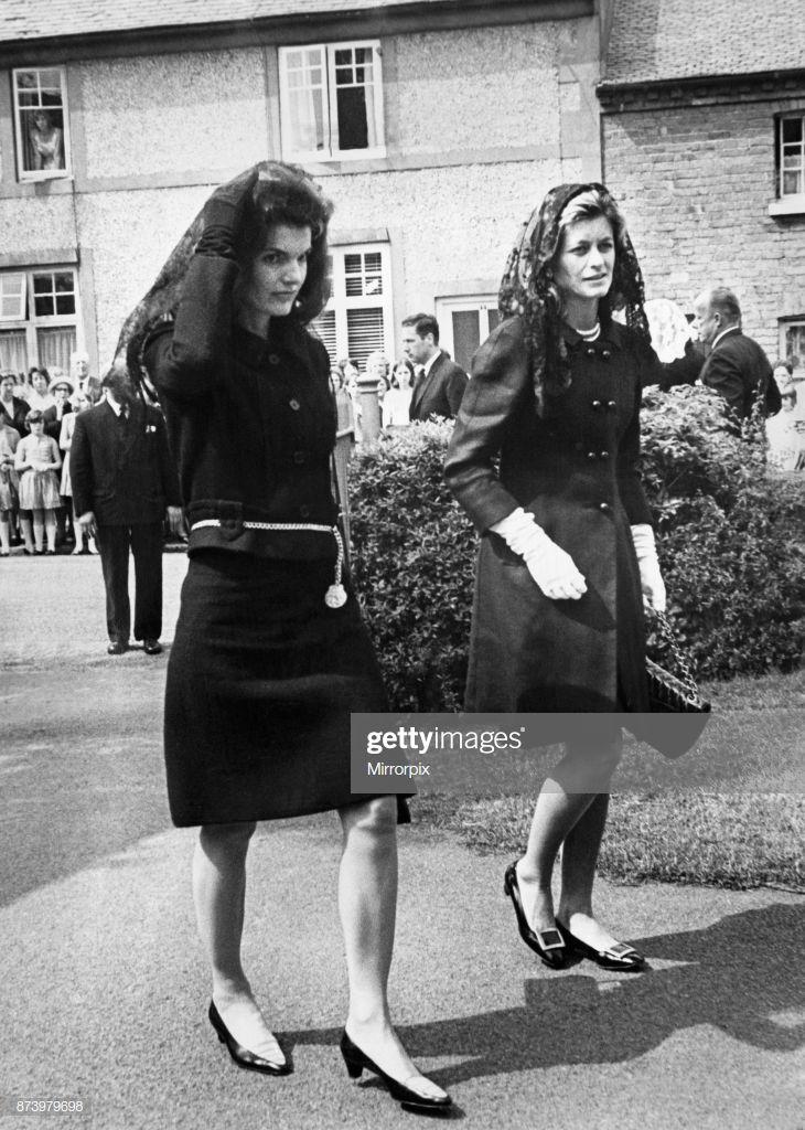 Mrs Jacqueline Kennedy, widow of slain American President John F....