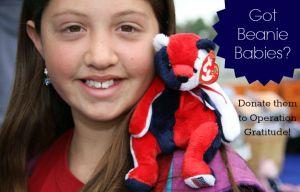 Got Beanie Babies? Donate them to Operation Gratitude!