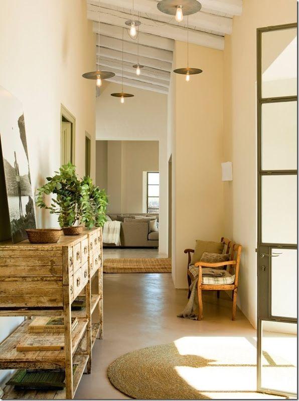 17 migliori idee su interni di casa di campagna su - Arredamento casa di campagna ...