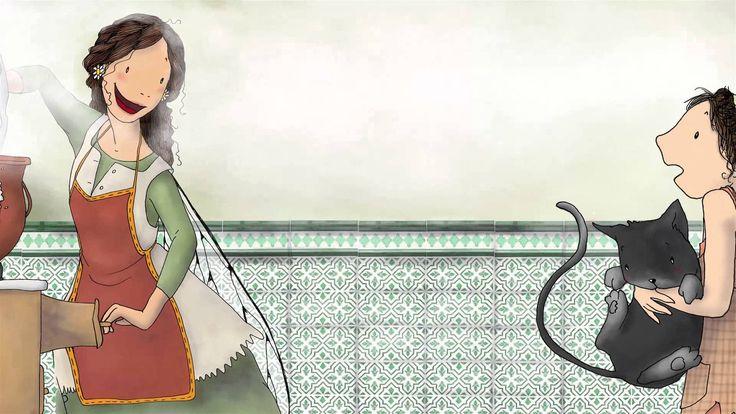 Marta, la fada desendreçada - Conte infantil il·lustrat
