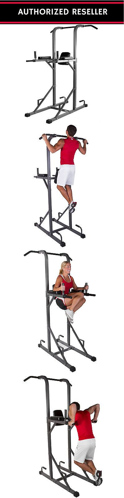 Home Gyms 158923: Xmark Fitness Power Tower With Dip Station Exercise Workout Pull Up Bar Xm-4434 BUY IT NOW ONLY: $158.0