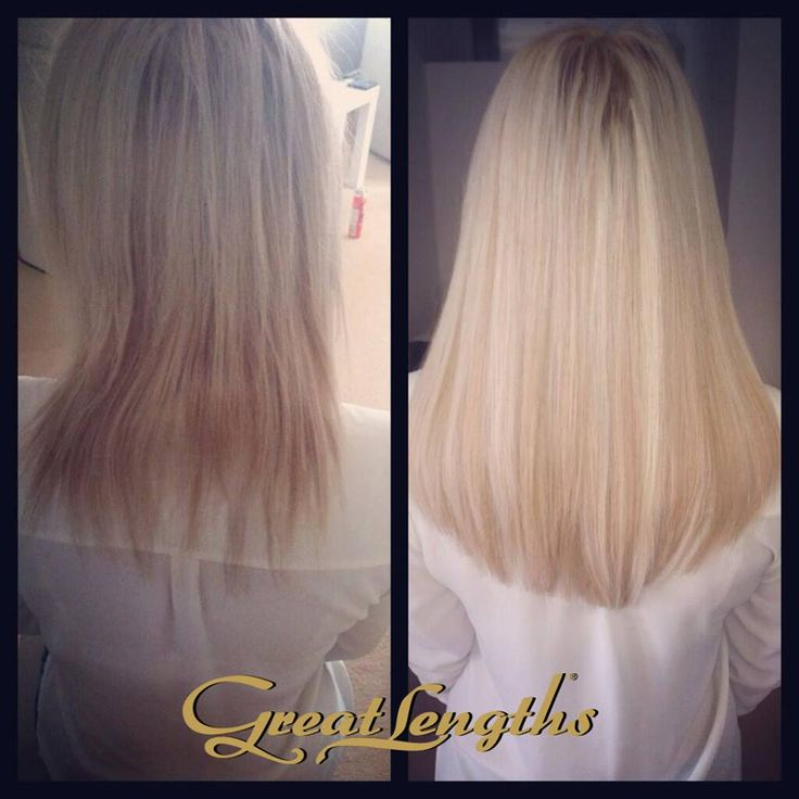Great Lengths added hair for glamorous fullness, beautiful lengths and healthy colour enhancement
