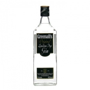 Greenall's Gin from the north of England