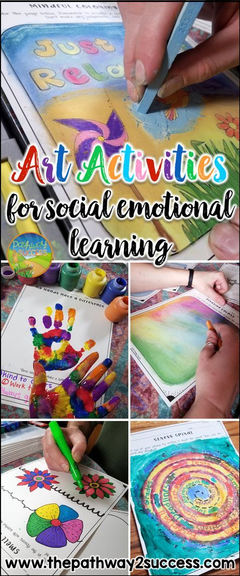 Art activities for social emotional learning. Use the power of art to boost conf…