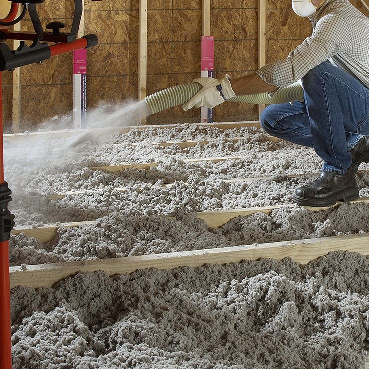 Shop Greenfiber R Blown In Insulation For Attics Basements Ceilings Crawlspaces Floors Walls