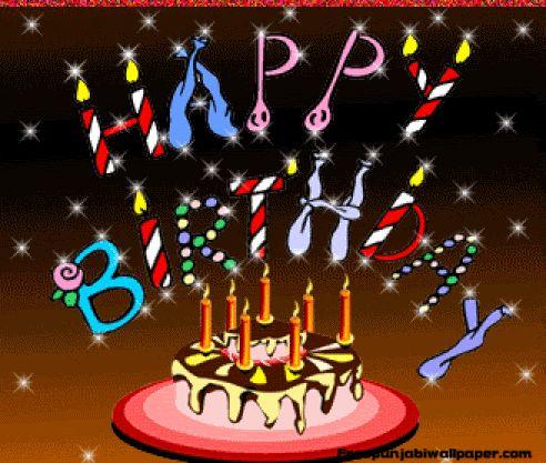 Free Animated Birthday Cake Graphic