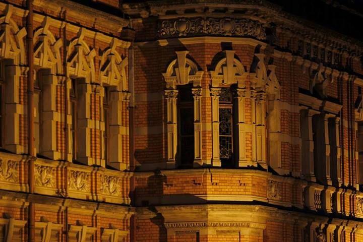 Pietermaritzburg Town Hall at Night