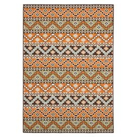 Accent rugs may also not show the entire pattern that the corresponding area rugs have.Cleaning and Care: Sweep, vacuum or rinse off with a garden hose