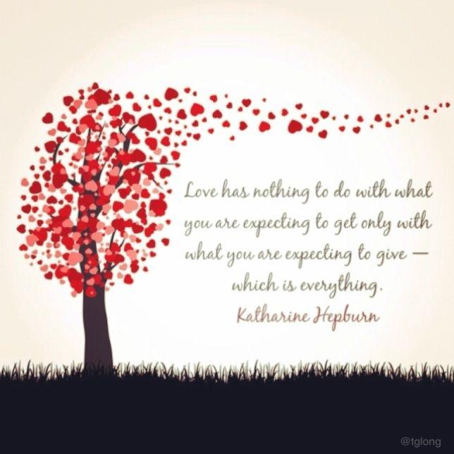 Katharine Hepburn #quotes #love