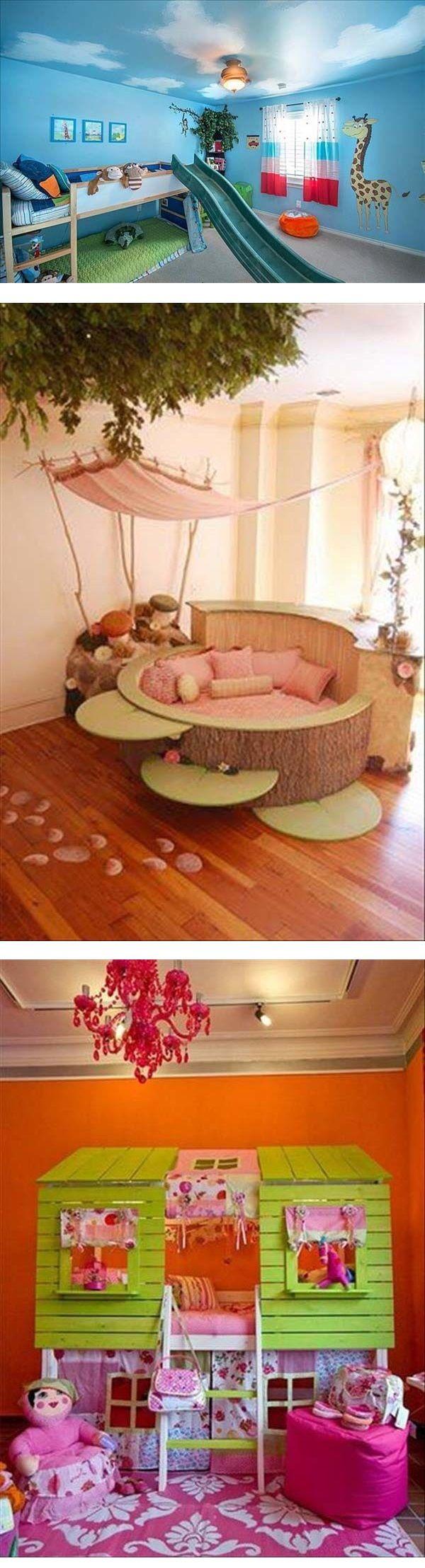 415 besten Children\'s Rooms Bilder auf Pinterest   Schlafzimmer ...