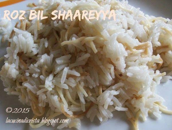 La cucina di Cristina: Roz bil shaareyya ( Riso con i vermiceli/capelli d'angelo - Rice with vermicelli - Orez cu fidea ) per il I del Il Cairo ( Egitto) del Abbecedario Culinario