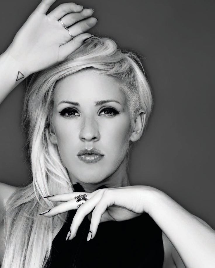 Wish I could pull off the partially shaved hair like Ellie Goulding.