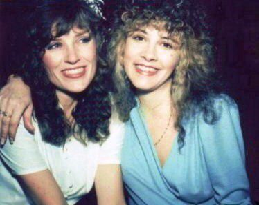 """Stevie Nicks and """"the white winged dove"""" Robyn Anderson"""