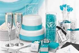 Turquoise and Silver Wedding Theme - Bing Images