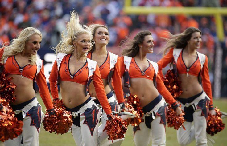 Cheerleaders of Super Bowl 50: Denver Broncos
