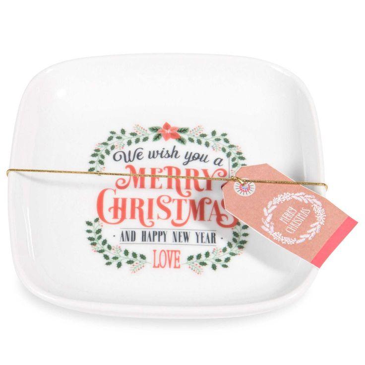 3,99 € |Coupelle en porcelaine MERRY CHRISTMAS  Ces coupelles en porcelaine vous accompagneront tout au long de vos repas en famille.
