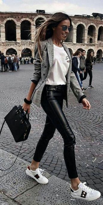 9 proof that the leather pants save any look – # pants # leather #de #provas …