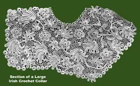 Image result for irish crochet motifs