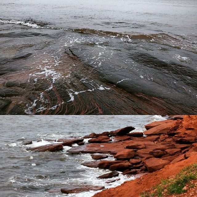 We're exploring the East Coast of Canada to gather inspiration & authentic colours of our beautiful land.   Can you guess where this gorgeous red soil is from? ;)