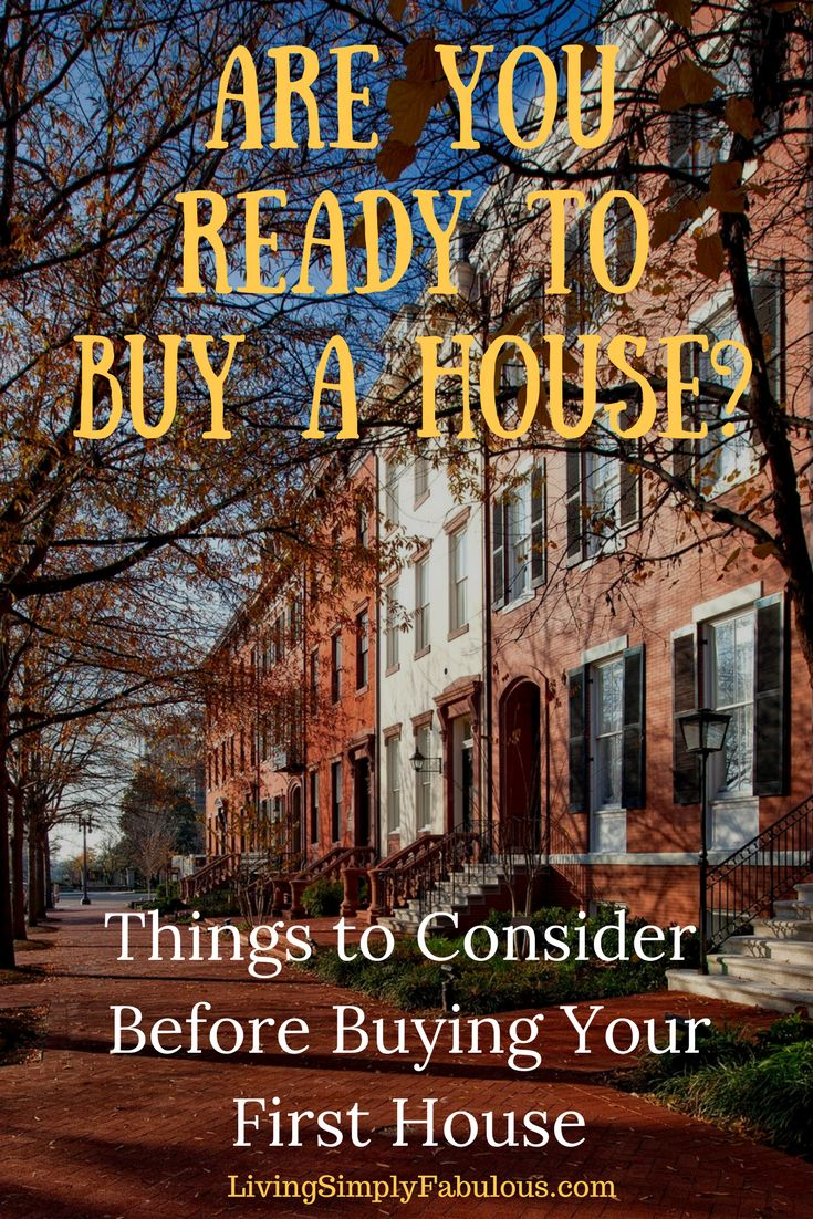 Factors to consider before you buy your first house. Great tips for soon-to-be home buyers.