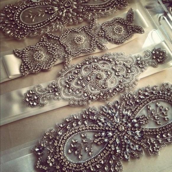 Accessoires de mariée Vintage ♥ Superbe Echarpe de mariée