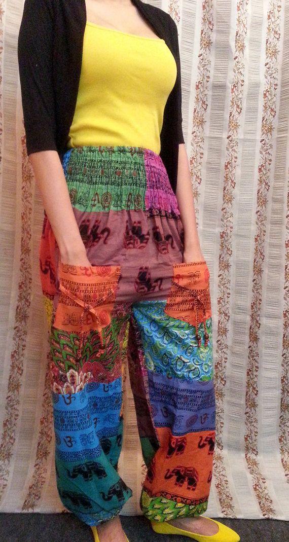 Off Gt Indian Harem Pants Women Harem Pants Patchwork