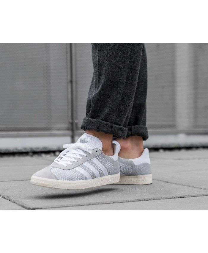 Adidas Gazelle PK Clear Onix White Mens Trainers | Shoes in