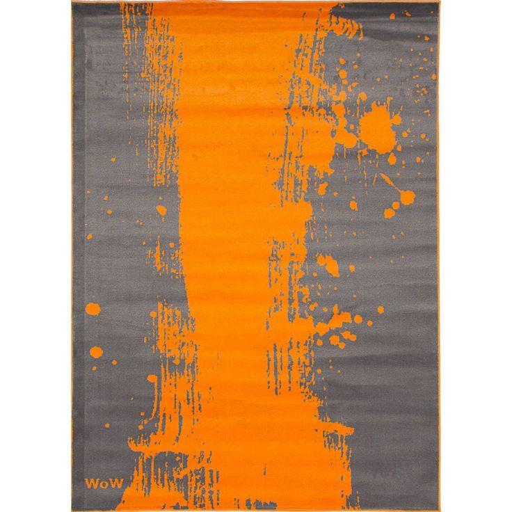eCarpetGallery Chroma, Orange Rug