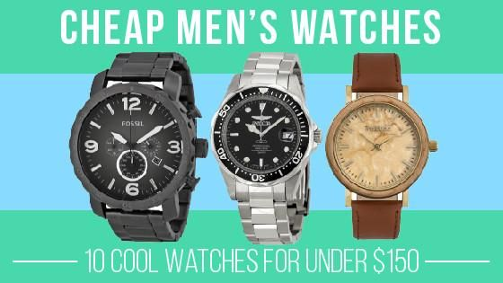 10 Cool watches that are affordable! Check them out here https://www.mytruwood.com/blogs/news/cheap-mens-watch