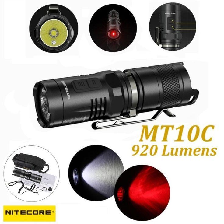 Nitecore MT10C Lampada LED 920 Lumens